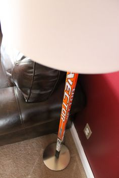 Hockey Stick Floor Lamp