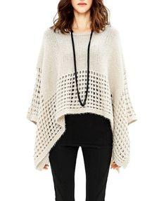 Irregular Cutout Knitwear