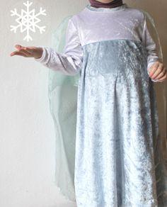 Elsa kostüm dress #1