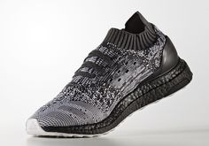 ae751dcfbd7 The adidas Ultra Boost Uncaged gets one of its best looks ever with black  and white Primeknit and black Boost.