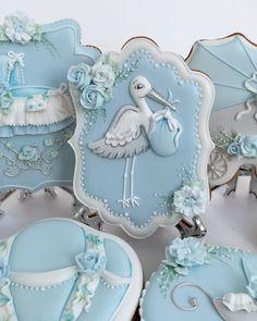 Cookies For Kids, Fancy Cookies, Iced Cookies, Baby Shower Cake Decorations, Baby Shower Cookies, Baby Cakes, Shower Set, Love Cake, Edible Art