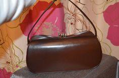 Stylish vintage/retro vinyl St Michael handbag by ClaireLouVintage