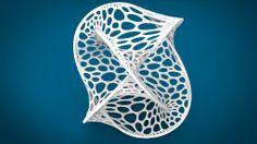 Cellular Borromean – Math Art by Dizingof