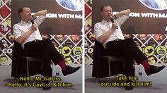 Mark Gatiss everybody.