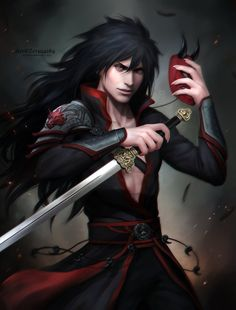 MADARA _ sword Susanoo by Zetsuai89 on DeviantArt #madara #uchiha
