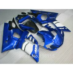 288.00$  Watch here - http://ai6td.worlditems.win/all/product.php?id=32620622876 - HOT fairing kit for YAMAHA 1998 1999 2000 2001 2002 YZF-R6 YZF R6 98-02 blue white black motorcycle fairings set NX36