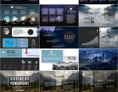 Red Year report charts PowerPoint template on Behance Company Introduction, Business Powerpoint Templates, 4 In 1, Company Profile, Background Templates, Good Company, Presentation Templates, Charts, Behance
