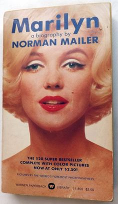 Marilyn : A Biography by Norman Mailer 1975 Warner Paperback Book Photographs