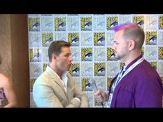 Once Upon A Fan interviews Josh Dallas at San Diego Comic Con 2013