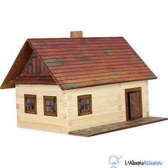 Walachia - Costruzioni in legno - N. 2 CASETTA CONTADINA - Hobby Kits | lalberoazzurro.net