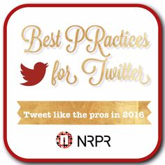 HUSTLE WITH A CONSCIENCE: NRPR Group Client Launch, Twitter Tips, and more!