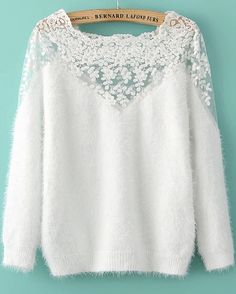 Lace Mohair Sweater