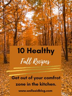Healthy and easy fall recipes to try this season! Ranging from 3 infredient meals to the crockpot!