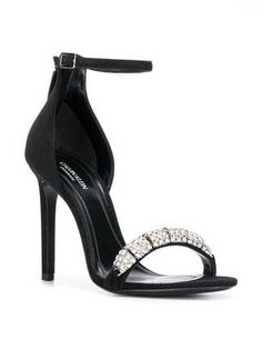 2f93bd36eec Calvin Klein 205W39nyc Camelle Jewelled Sandals - Farfetch