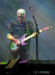 David Jon Gilmour, CBE, D.M. (born 6 March 1946) is an English rock musician and multi-instrumentalist who is best known as the guitarist, one of the lead singers and main songwriters in the progressive rock band Pink Floyd. It is estimated that as of 2011, the group has sold over 230 million albums worldwide, including 74.5 million units sold in the United States.