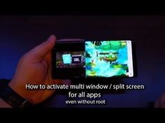 How to activate multi window / split screen for all apps even without root - Andrasi.ro
