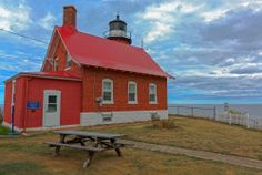 Picnic View, Eagle Harbor Lighthouse, Michigan