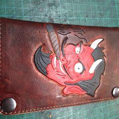 #devilpinup #oldschool #leathertooling