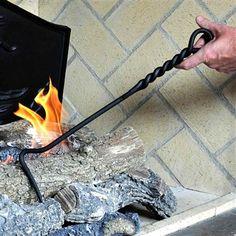 73 best fireplace tools images fireplace tool set blacksmithing rh pinterest com