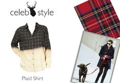 Want to channel Anne Hathaway's festive style with a plaid shirt? Then check out our Elizabeth & James Amber Beached Cotton Shirt, £225 at: http://www.miinto.co.uk/p-17952-elizabeth-james-amber-beached-cotton-shirt
