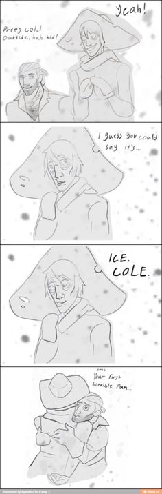 Cole's first pun - Varric is so proud