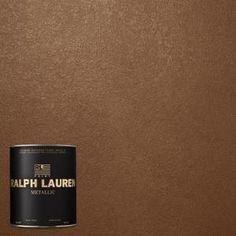 Ralph Lauren, 1-qt. Gilt Bronze Metallic Specialty Finish Interior Paint, ME135-04 at The Home Depot - Mobile