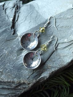 aluminum earrings aluminium  earrings by HandmadeEarringsUk