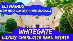 Luxury Charlotte Homes For Sale Luxury Homes, The Neighbourhood, Charlotte, Real Estate, Videos, Outdoor Decor, Luxurious Homes, Luxury Houses, The Neighborhood