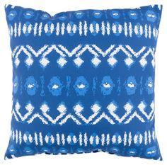 Besio Outdoor Pillow, Indigo