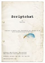 In case you missed the recent Twitter discussion with Judy and Lawrence, here is the archive of #scriptchat