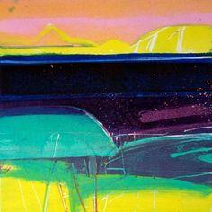 Achill Sound by Barbara Rae