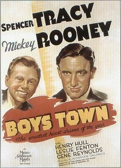 """""""Boys town"""" directed by Norman Taurog / 3rd grossing film in 1938"""