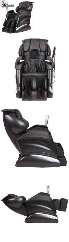 Beau Electric Massage Chairs: Openbox Tsukino Innovative 4D Advanced Realistic Massage  Chair   Black BUY IT