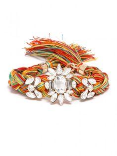 Crystal Braid Bracelet Bracelet | BaubleBar
