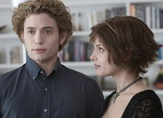 Jasper and Alice. Jasper is probably my second or third favorite Cullen. Emmett is the first but Alice would make a great BFF.