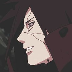 Simply love that smile. #uchiha #madara