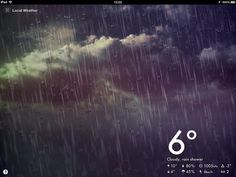 Augmented Paper - The image is from iOS app Magical Weather on iPad by Matt Gemmell, via Flickr