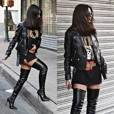 Find a superb New series of opposite sex knee substantially high the company. Go level for the day, in that case vamp it up by night-time using our heeled design. Skater Girl Outfits, Rock Outfits, Edgy Outfits, Grunge Outfits, Cute Casual Outfits, Dance Outfits, School Outfits, Egirl Fashion, Fall Fashion Outfits