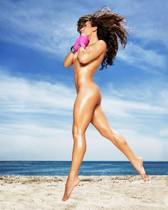 ESPN The Magazine, The Body Issue, Summer 2013 | Miesha Tate, 26 years old, UFC bantamweight title contender | photo by Ben Watts | links/source: (1) http://espn.go.com/espn/bodyissue (2) http://espn.go.com/espn/photos/gallery/_/id/9428872/