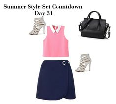 Summer Style Set Countdown Day 31 by fredericaehimen on Polyvore featuring polyvore fashion style WithChic Topshop ALDO clothing