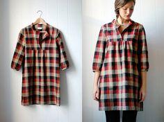 The tovas flannel dress.