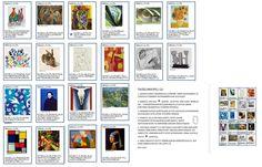 Art Links 2 -taidelinkkipeli, taiteen elementit ja periaatteet (suomennettu Susan Martinin alkuperäispelistä http://scrogginsart.weebly.com). (Tämä löytyy pdf-tiedostona, jos joku innostuu, voin laittaa spostiin tulemaan...)