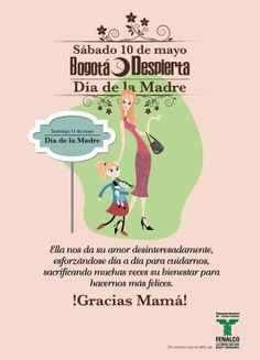 """El sábado 10 de mayo, se realizará la jornada de Bogotá Despierta """"Día de la Madre"""""""