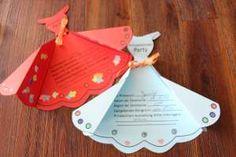 Einladungskarte Prinzessinnenparty. #basteln #Kindergeburtstag