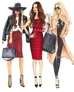 ♦️Houston Fashion Illustrator ♦️As Seen In- Vogue,InStyle ♦️Clients-Maybelline…