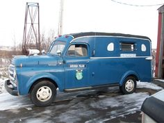 *1948 DODGE POLICE PADDY WAGON..Concord, NH Police Department.