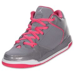 nike jordan shoes for girls | Nike Girls Preschool Jordan As You Go Basketball Shoes GreyDynamic ...