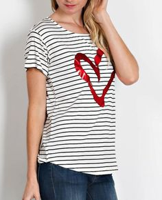 Heart Outline Top