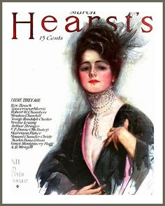 1915 March Cover - Hearst's by Harrison Fisher | Flickr - Photo Sharing!