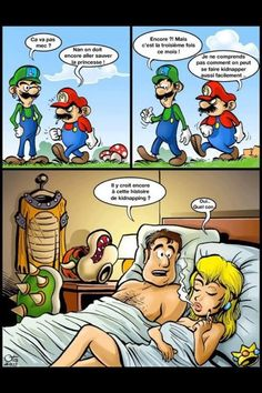 #humour : Mario, les dessous de la vérité. xD